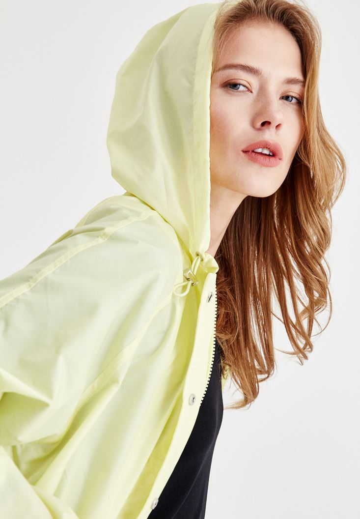 Raincoat with Pocket