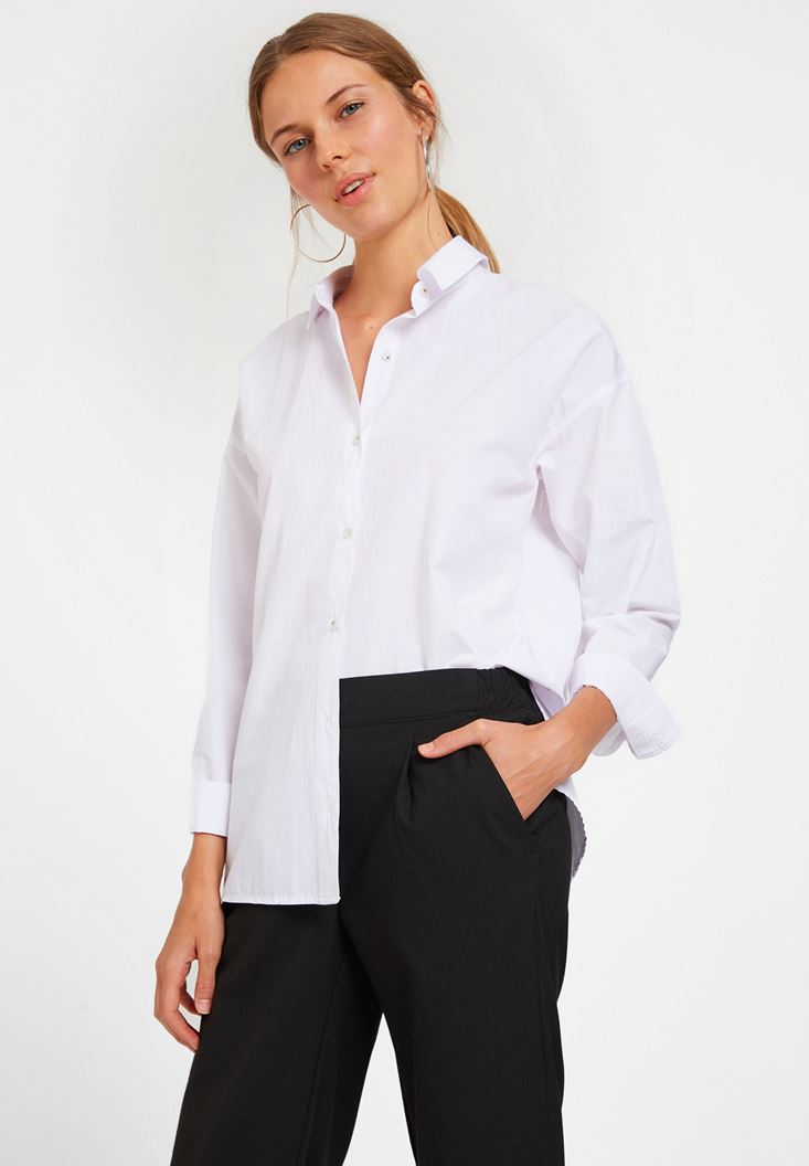 White Structured Shirt