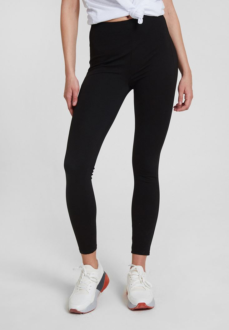 Black Ultra High Rise Jeggings
