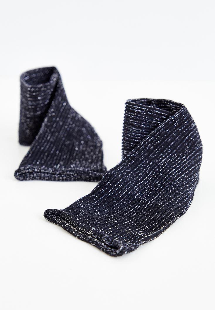 Grey Silver Socks