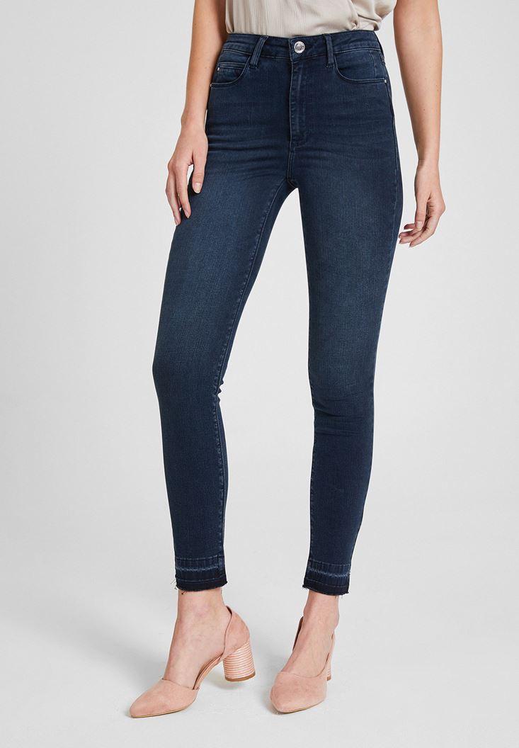 High Rise Skinny Pants