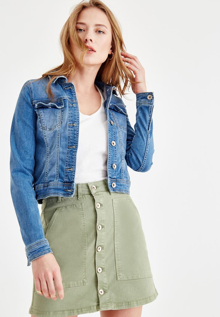 Blue Short Jean Jacket