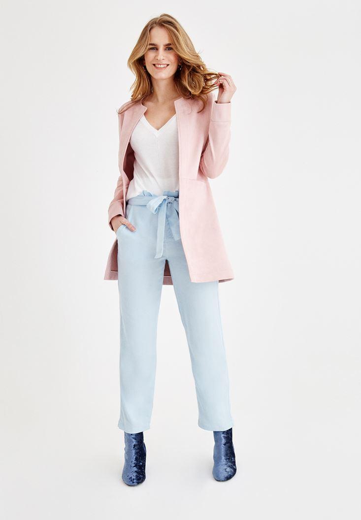 Mavi Pantolon ve Ceket Kombini