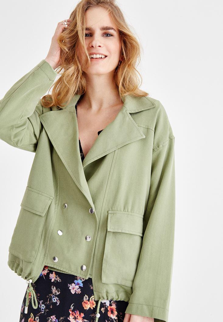 Green Oversize Coat
