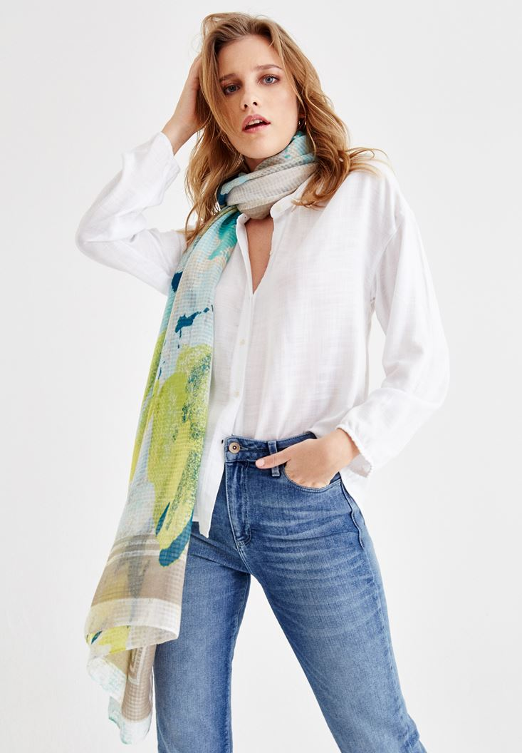 Shirt with Arm and Button
