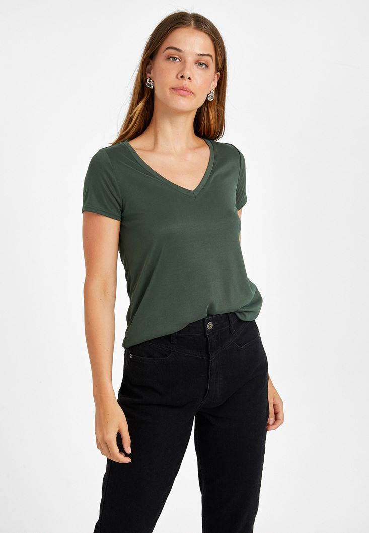 Green Soft Touch T-Shirt