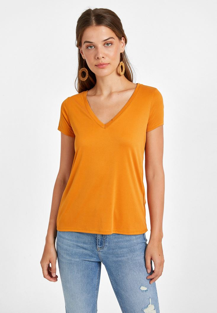Orange Soft Touch T-Shirt