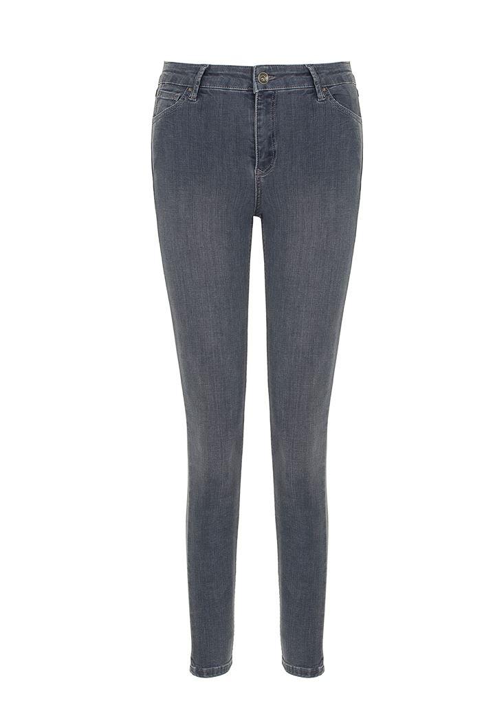 Orta Bel Skinny Denim Pantolon
