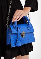 Bayan Mavi Mini Kol Çantası