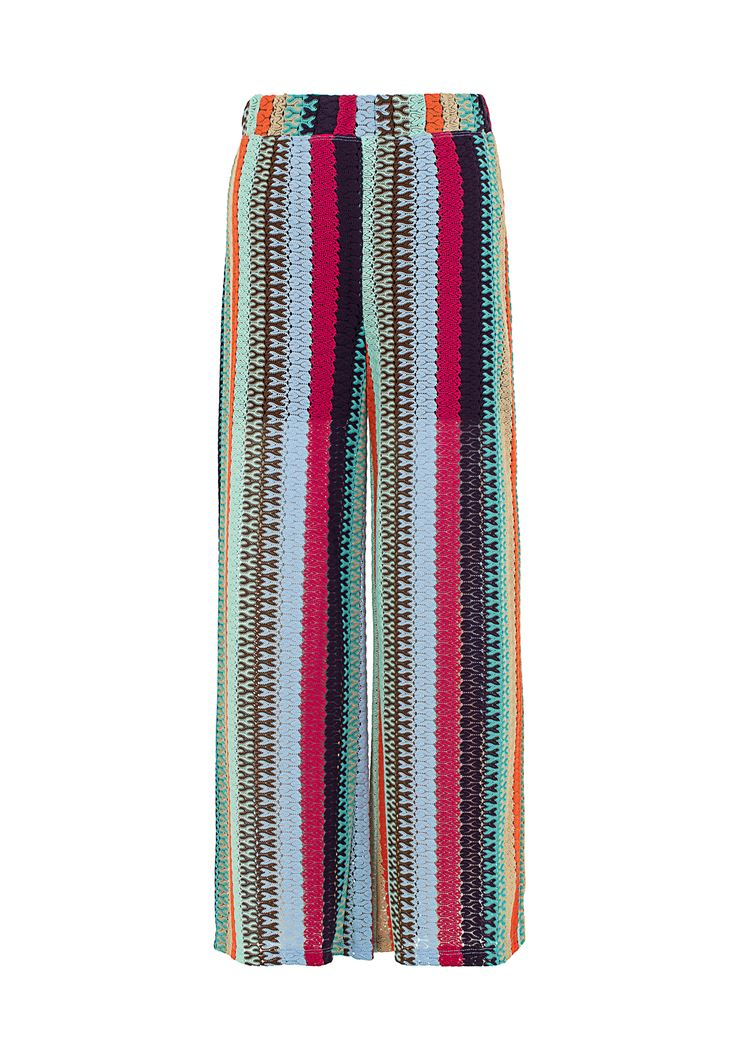 Yüksek Bel Culotte Pantolon