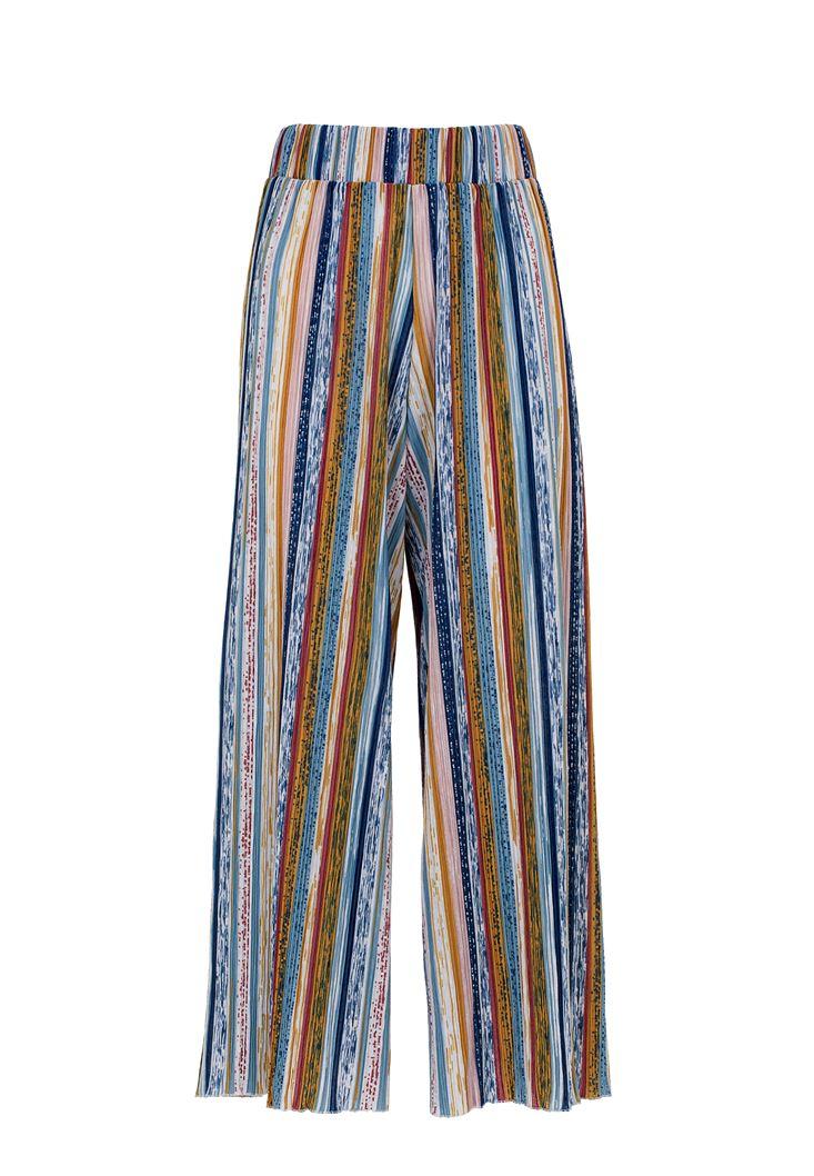 Desenli Culotte Pantolon