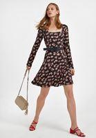 Bayan Çok Renkli Mini Elbise