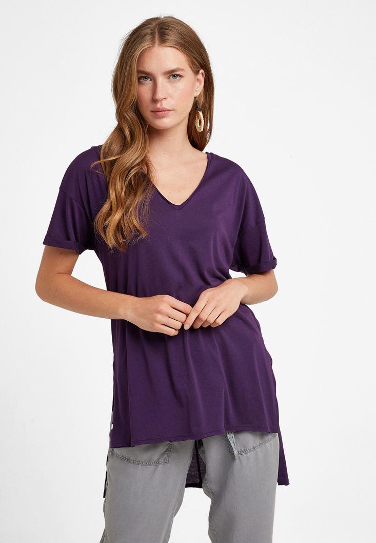 Purple Oversize T-Shirt