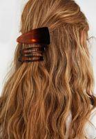 Bayan Kahverengi 3'lü Saç Tokası Seti