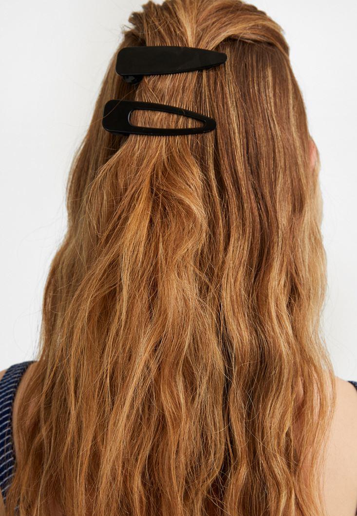 Black Hair Clip Set