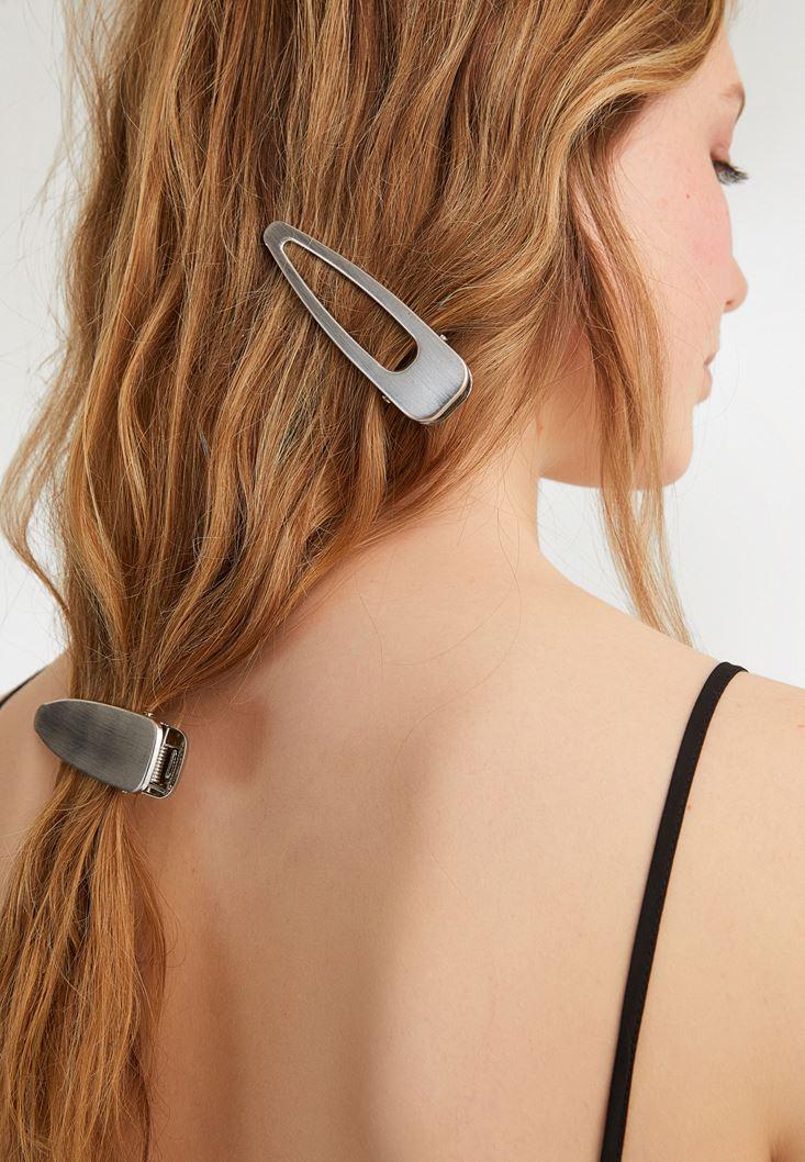 Grey Hair Clip Set