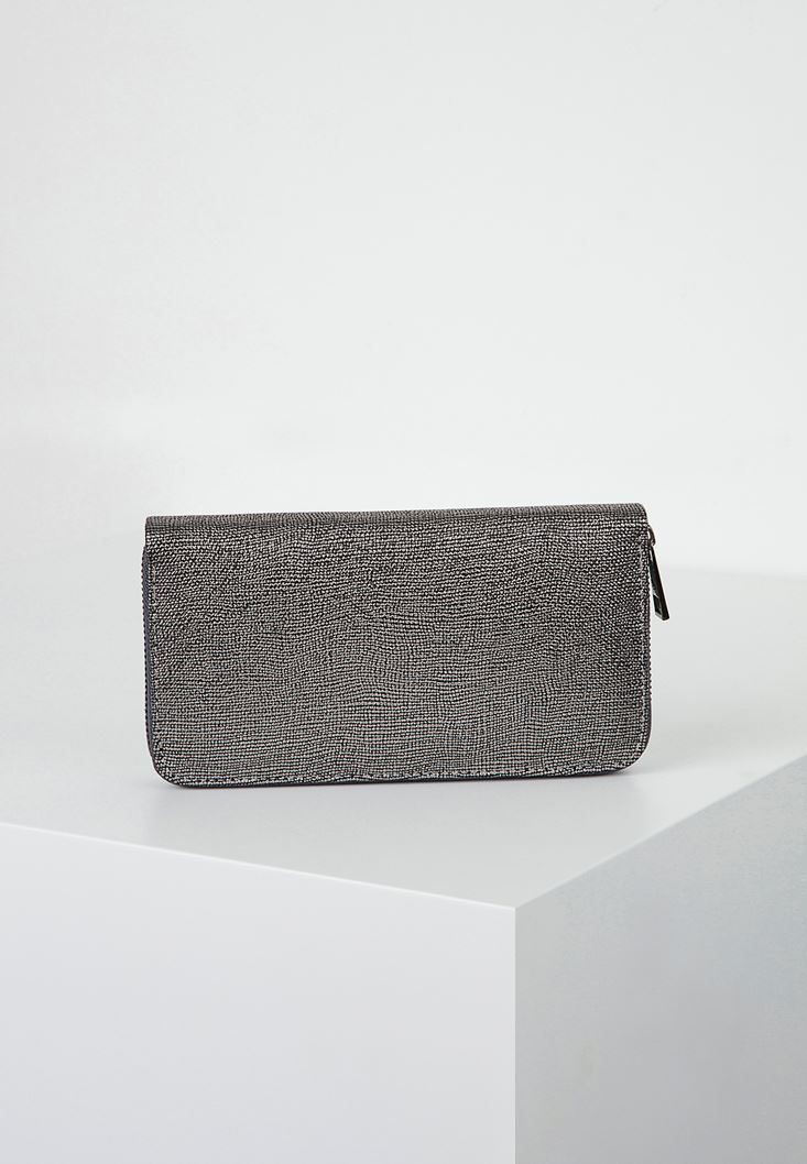 Grey Mid-Size Purse