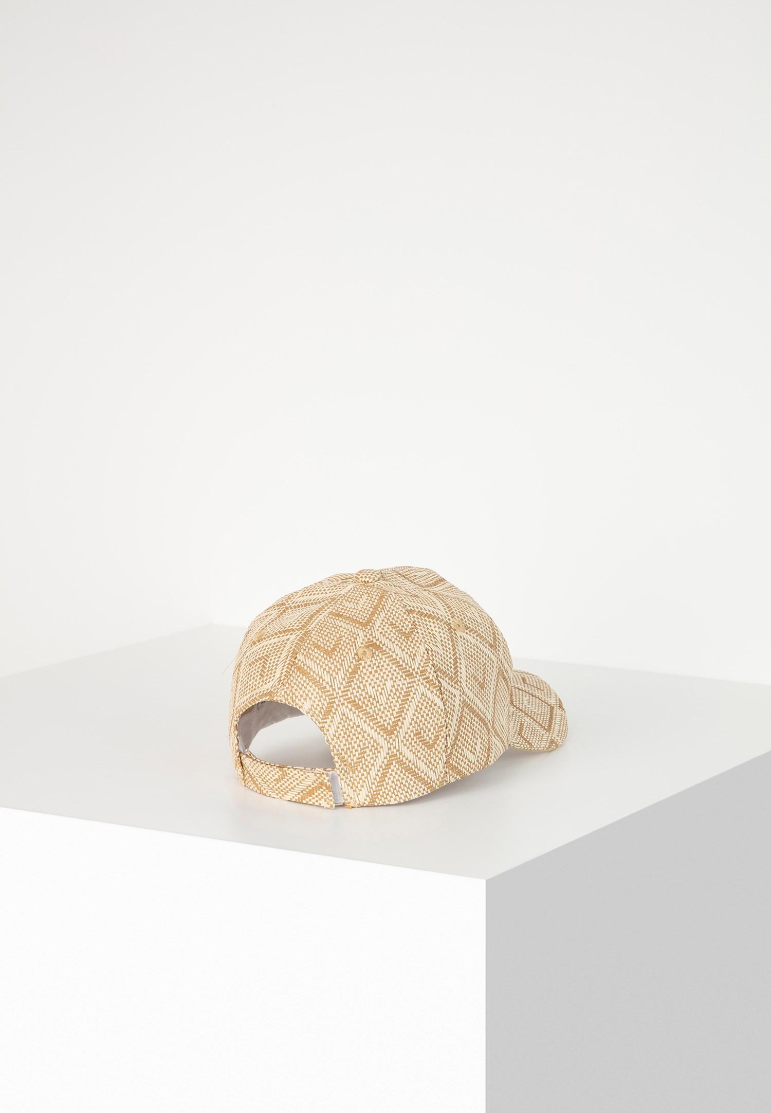 Bayan Çok Renkli Desenli Şapka