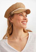 Bayan Kahverengi Hasır Şapka