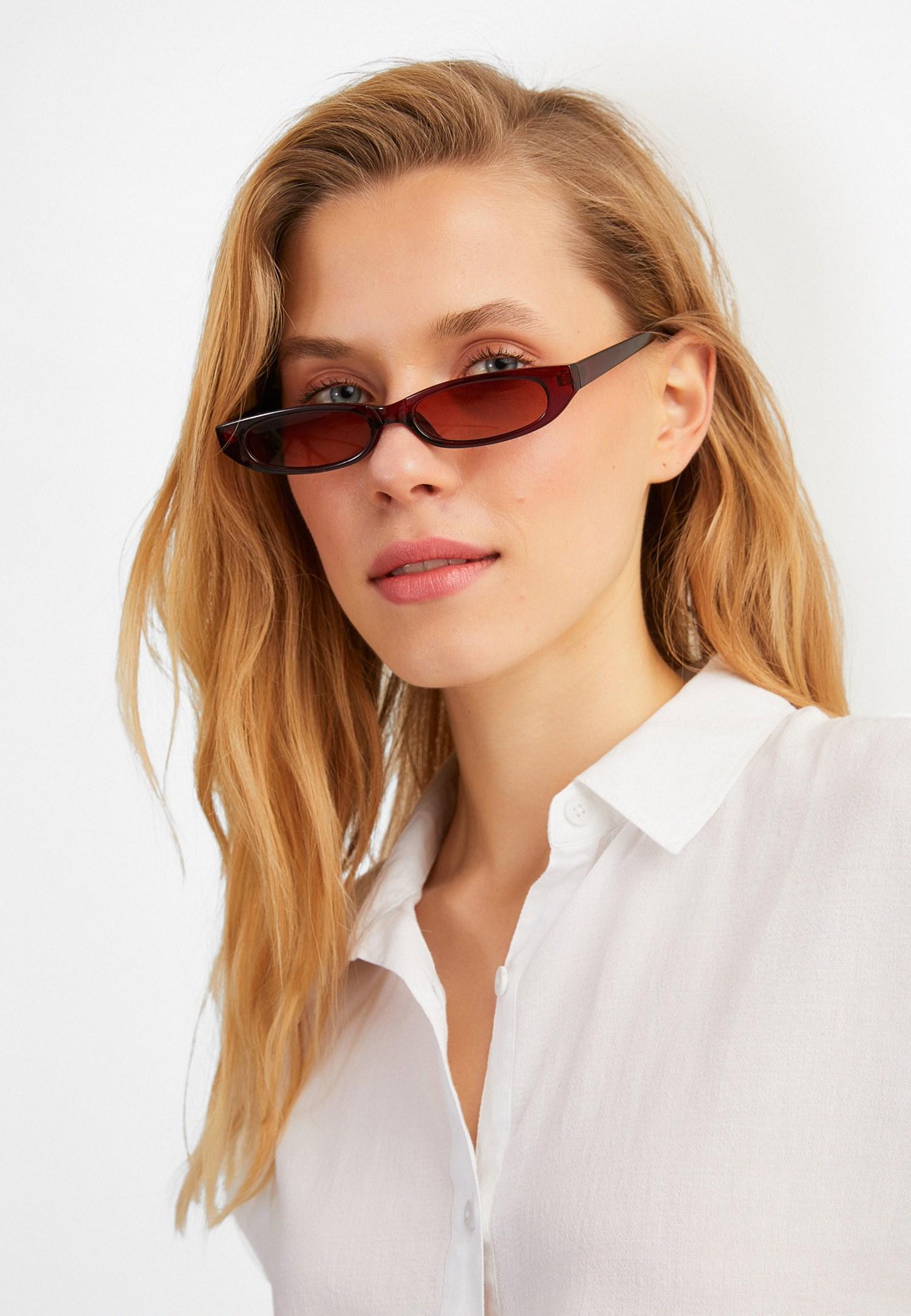 Bayan Kahverengi Güneş Gözlüğü