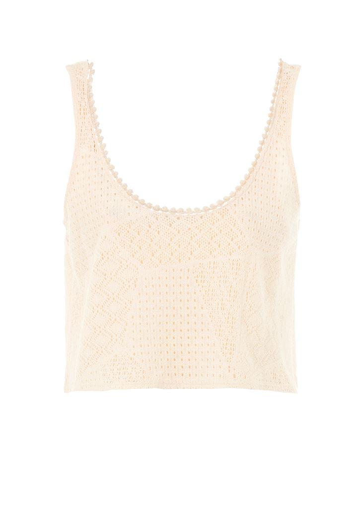 Askılı Dantel Bluz