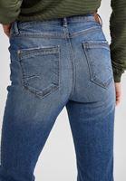 Bayan Lacivert Boru Paça Pantolon