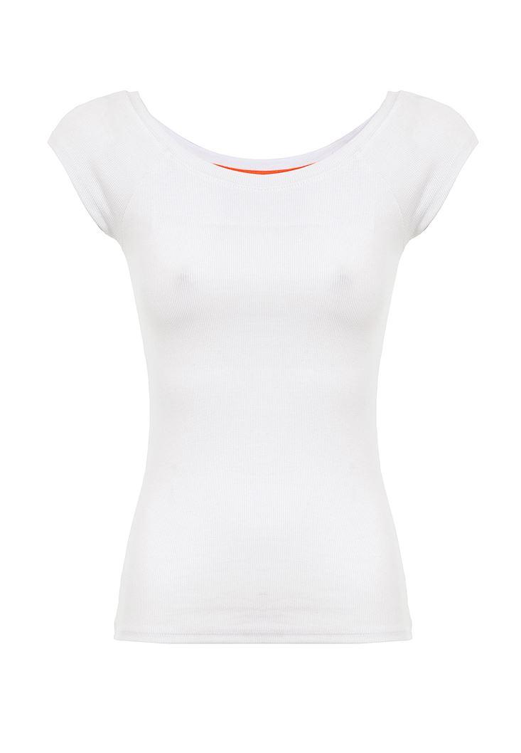Yarım Kollu Basic Tişört