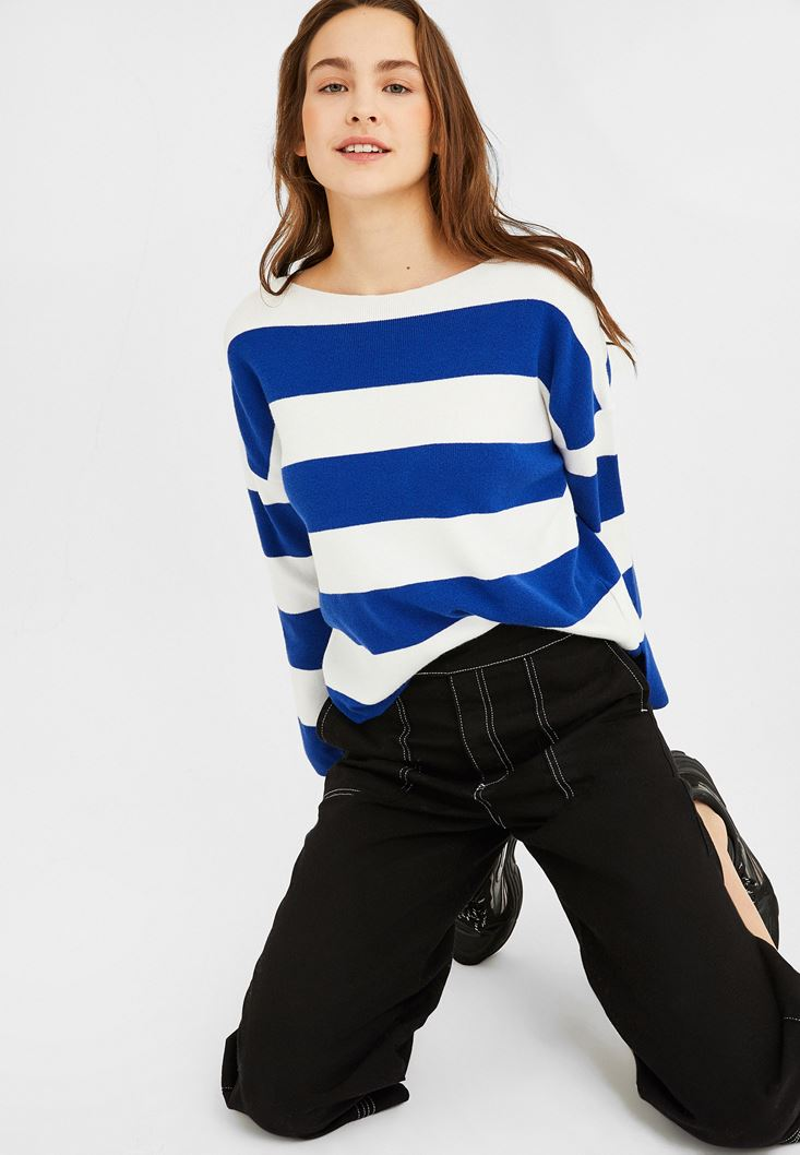 Mixed Striped Knitwear