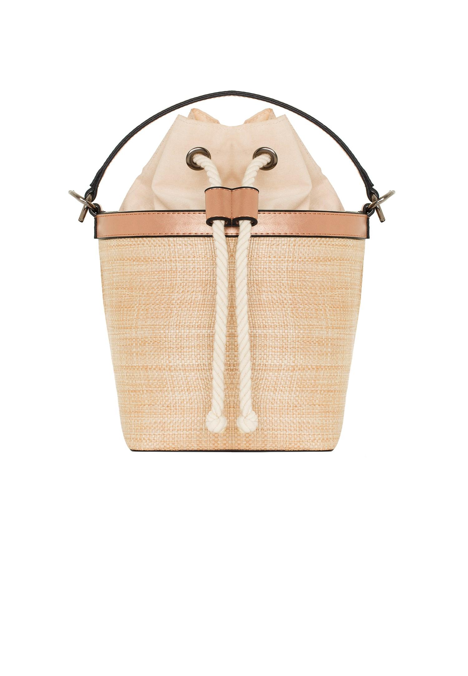 Bayan Pembe Sepet Çanta