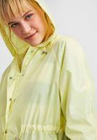 Bayan Sarı Kapüşonlu Yağmurluk