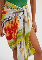 Bayan Çok Renkli Desenli Şal