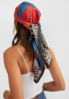 Women Mixed Patterned Scarf