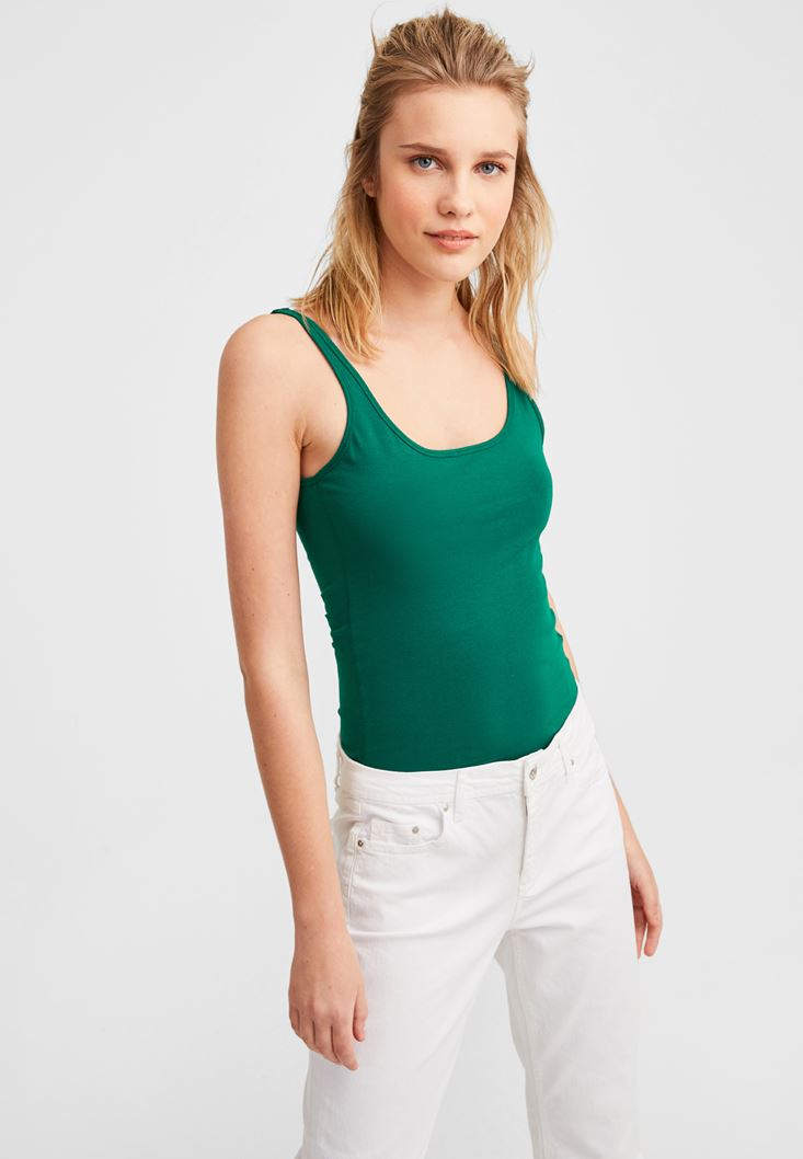 Green Basic Top