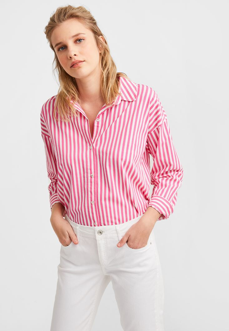 Mixed Striped Shirt