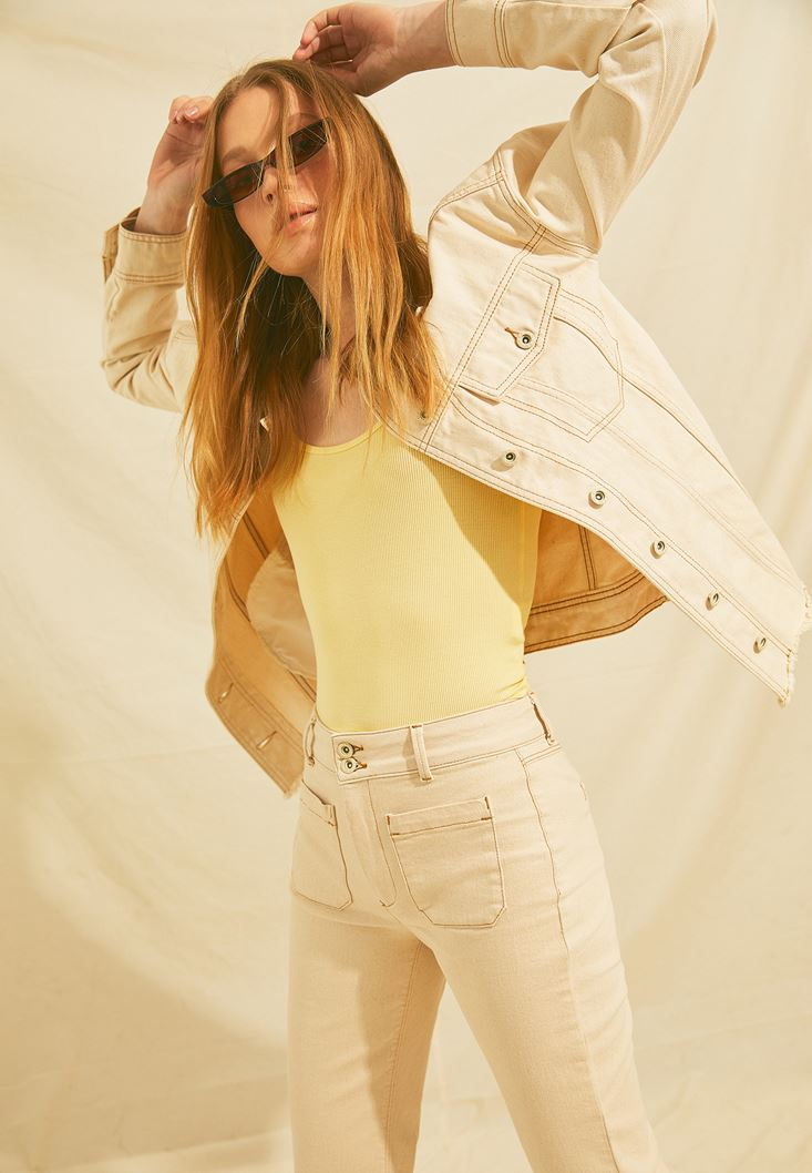 Cream Boyfriend Denim Jacket