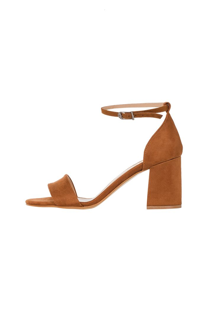 Tek Bantlı Topuklu Ayakkabı