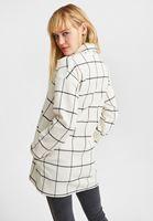 Bayan Siyah Düğme Detaylı Ceket
