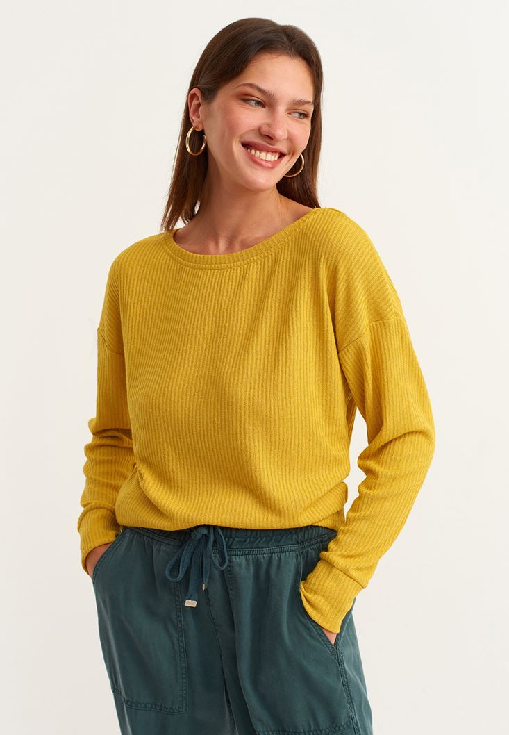 Yellow Long Sleeve Basic