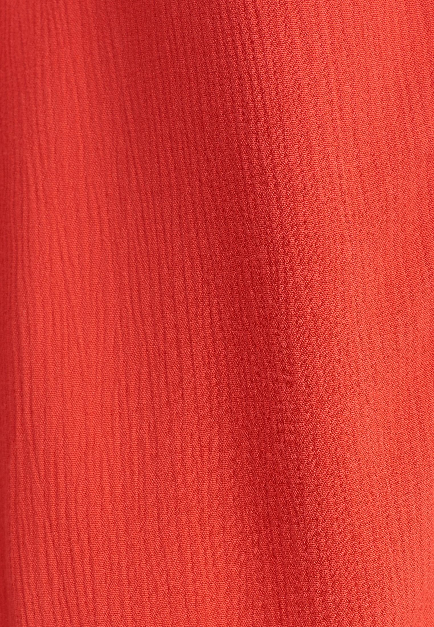 Bayan Turuncu Dantel Detaylı Mini Elbise