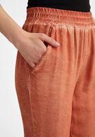 Bayan Turuncu Beli Lastikli Jogger Pantolon